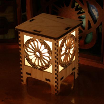 Laser Cut Lamps at Buildlog.Net Blog