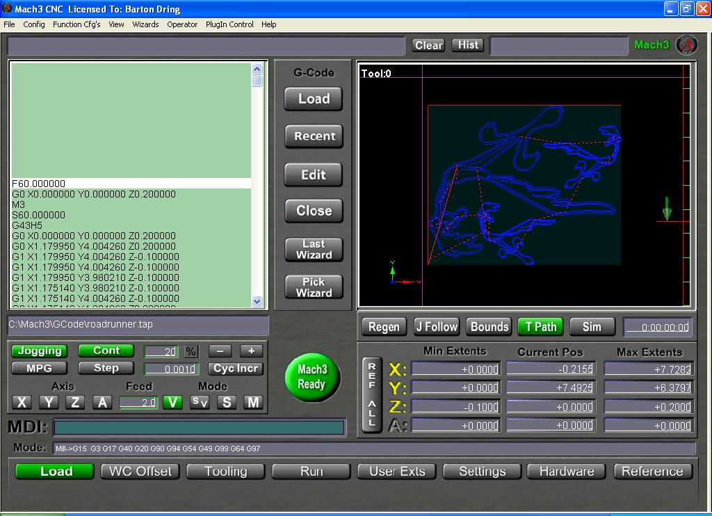 Mach3 2010 Screenset