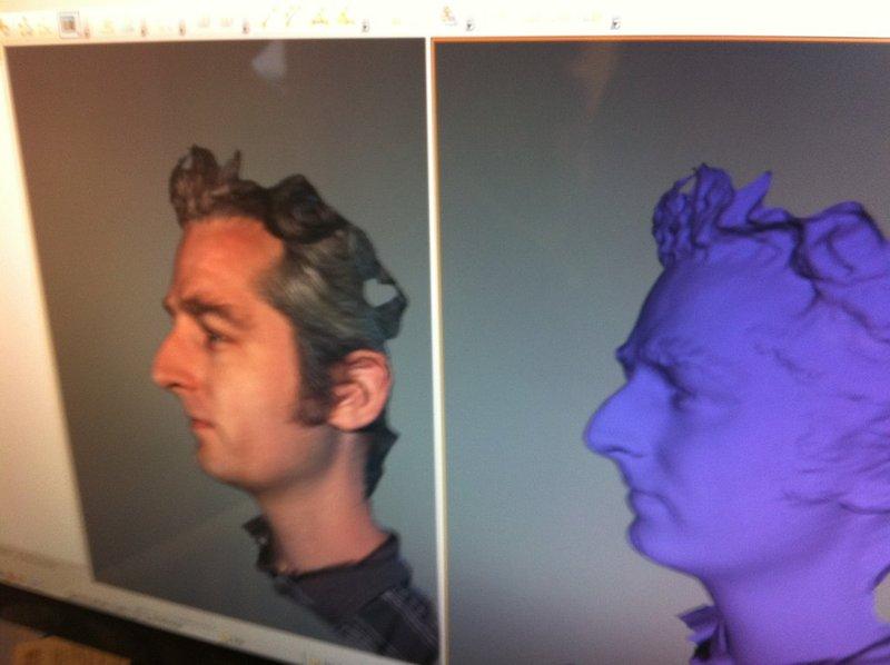 Makerscan – 3D Scanning from MakerBot? at Buildlog Net Blog