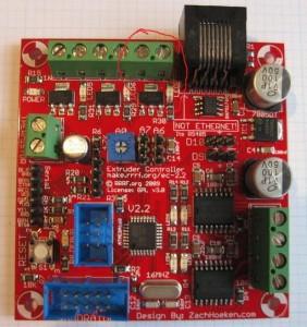 RepRap Extruder controlle