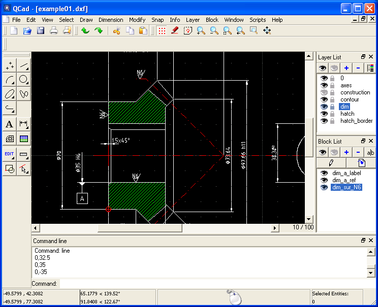 Free 2d cad solutions at buildlog net blog for Online 2d drafting software