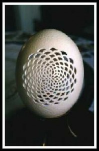 Laser Cut Egg