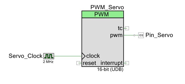 Hobby/RC Servo Control in PSoC at Buildlog Net Blog