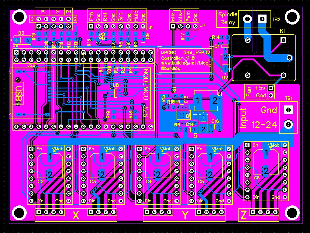 MPCNC ESP32 Controller Ideas at Buildlog Net Blog